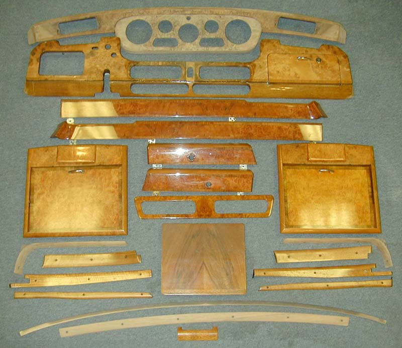 Rolls Royce Silver Cloud Wood Door Panel Amerimax